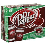 Dr Pepper Soda, 20 - 12 fl oz (355 ml) cans [240 oz (7.1 lt)] at mygofer.com