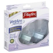 Playtex VentAire Advanced Bottle, Standard, with Slow Flow Nipple, 6 oz, 3 bottles at Kmart.com
