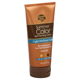 Banana Boat Summer Color Self-Tanning Lotion, Light/Medium Color, 6 fl oz (177 ml) at mygofer.com