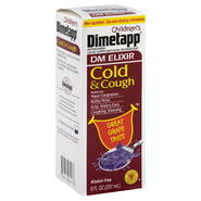 Dimetapp Cold & Cough, Children's, Grape, 8 fl oz (237 ml) at Kmart.com