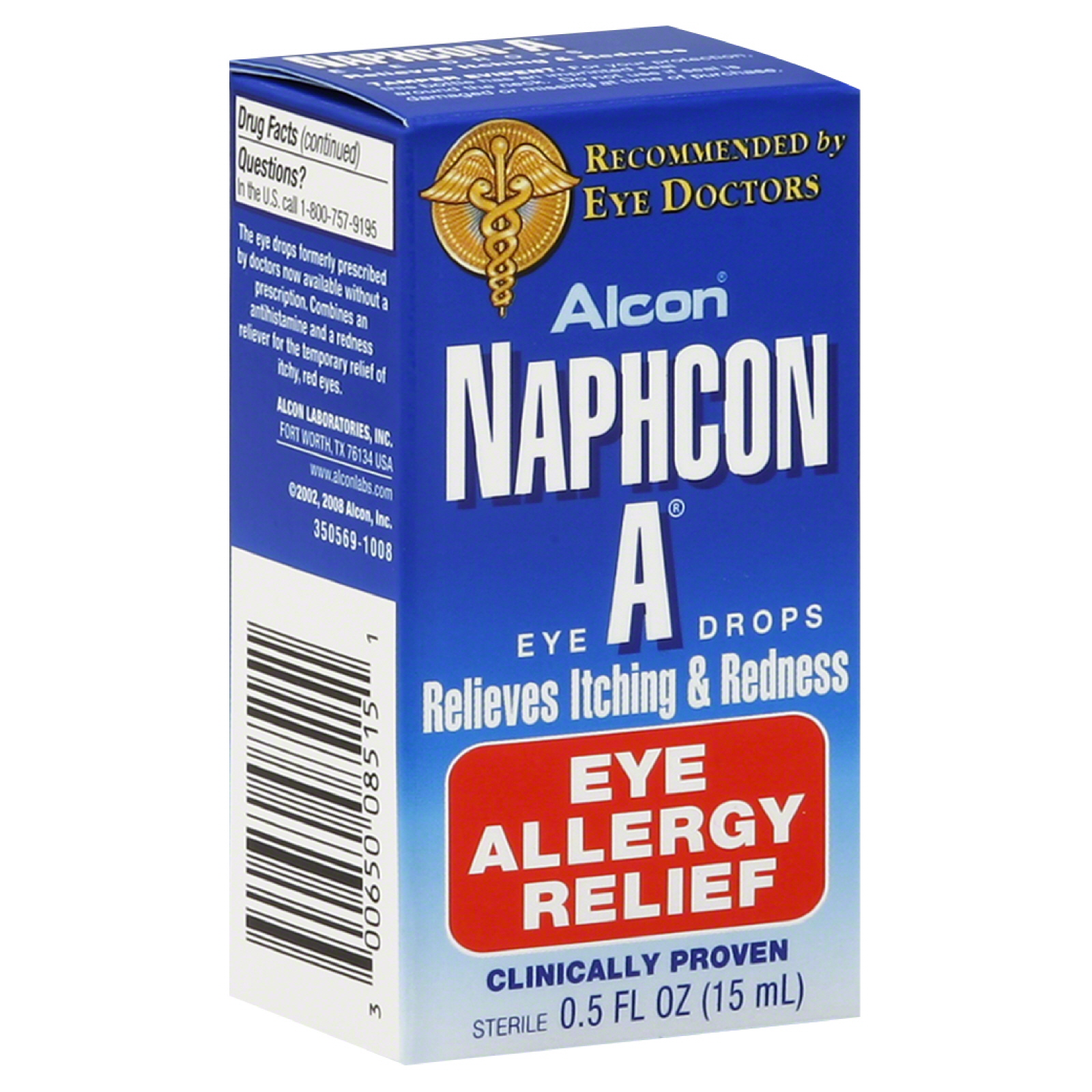 Naphcon A Eye Drops, Eye Allergy Relief, 0.5 fl oz (15 ml)                                                                       at mygofer.com