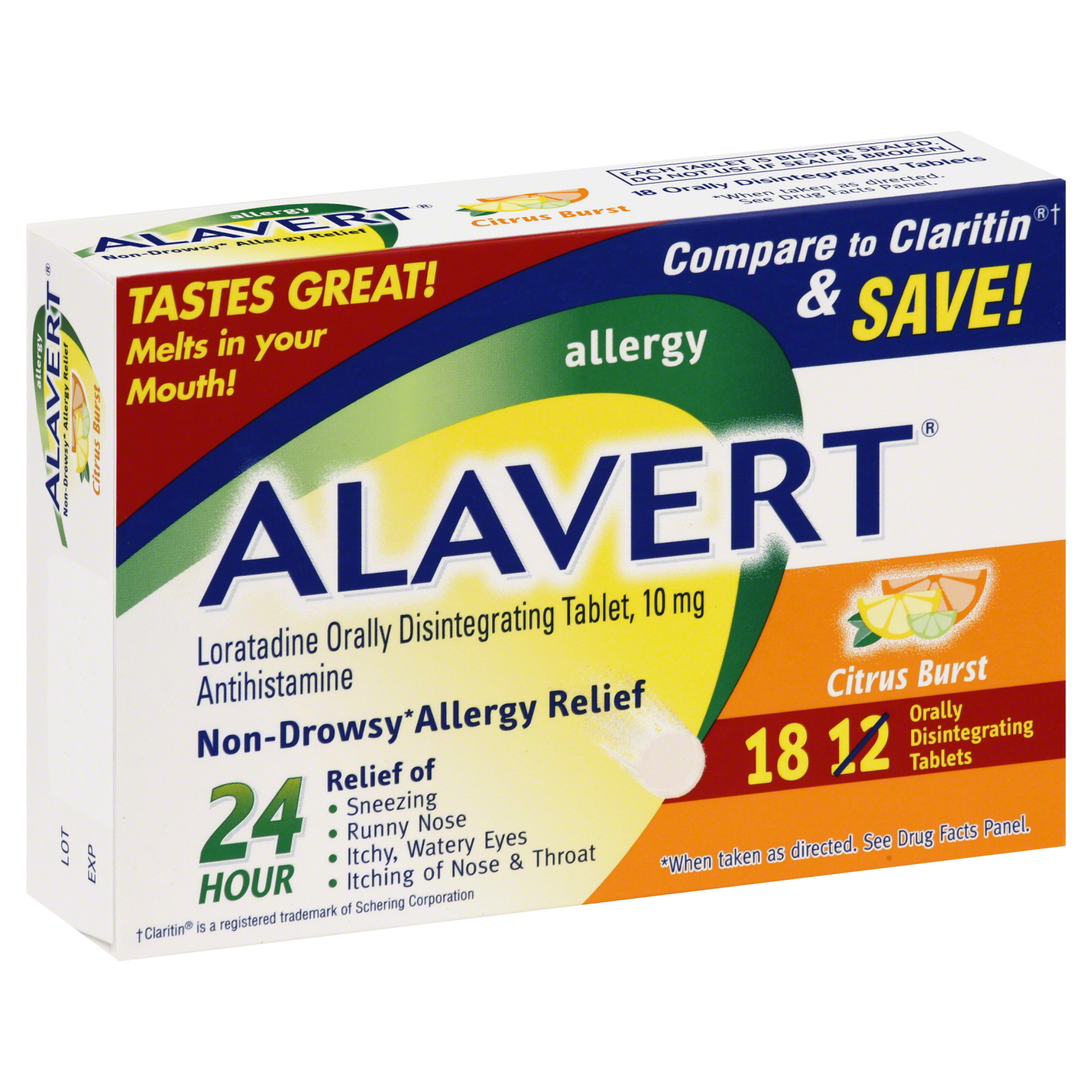Alavert  Allergy Relief, Non-Drowsy, 10