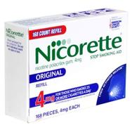 Nicorette Stop Smoking Aid, 4 mg, Gum, Original, Refill, 168 pieces at Kmart.com