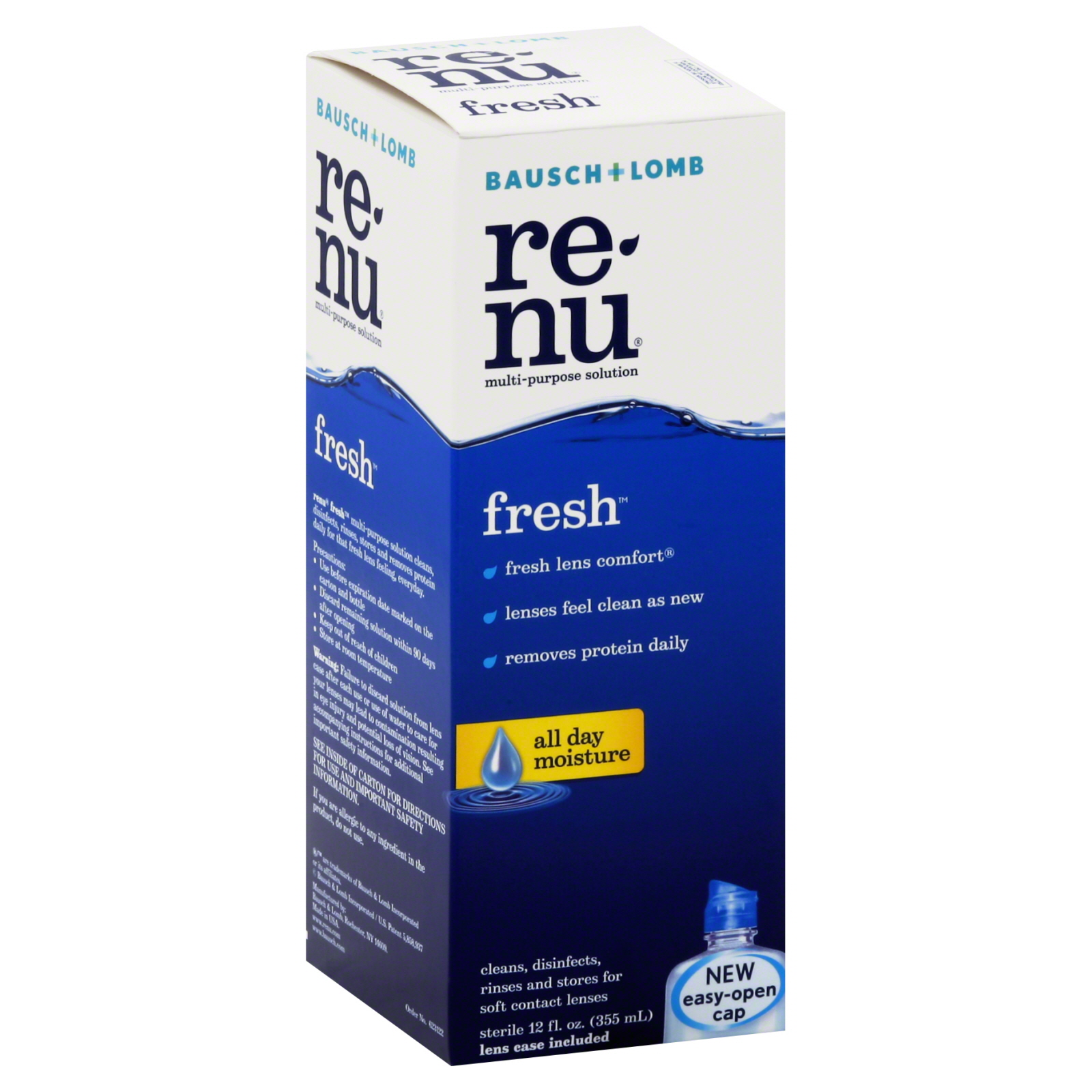 Re-Nu Fresh Multi-Purpose Solution, Fresh, 12 fl oz (355 ml)                                                                     at mygofer.com
