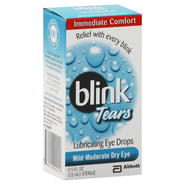 Blink Eye Drops, Lubricating, Mild-Moderate Dry Eye, 0.5 fl oz (15 ml) at Kmart.com