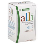 Alli Weight Loss Aid, 60 mg, Capsules, Refill Pack, 120 capsules at Kmart.com