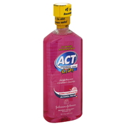ACT Kids Anticavity Fluoride Rinse, Bubble Gum Blow Out, 18 fl oz (530 ml) at Kmart.com