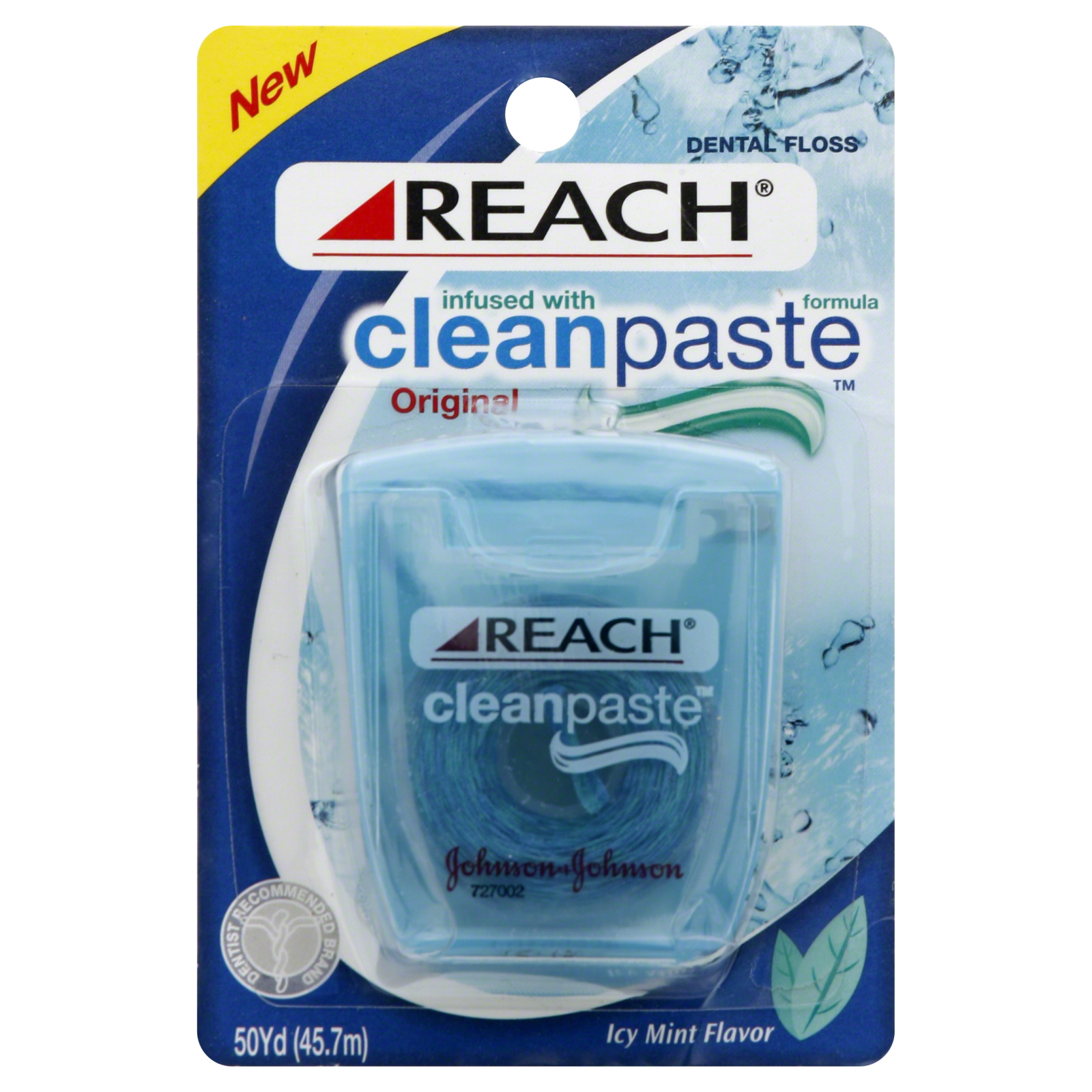 Dental Floss, Original, Icy Mint Flavor, 50 yd                                                                                   at mygofer.com