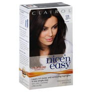 Clairol Nice 'N Easy Permanent Color, Natural Soft Black 123, 1 application at Kmart.com