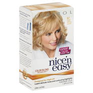 Clairol Nice 'N Easy Permanent Color, Ultra Light Natural Blonde 87, 1 application at Kmart.com