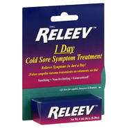Releve Cold Sore Symptom Treatment, 1 Day, 0.20 oz (6 ml) at Kmart.com