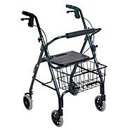 Nova Ortho-Med Inc Walker, 4-Wheel, Blue, 1 walker at Kmart.com