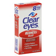 Clear Eyes Eye Drops, Redness Relief, 1 fl oz (30 ml) at Kmart.com
