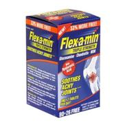 Flex-a-min Glucosamine + Chondroitin + MSM with Hyaluronic Acid, Triple Strength, Easy-to-Swallow Coated Tablets, Bonus, 106 coated tablets at Kmart.com