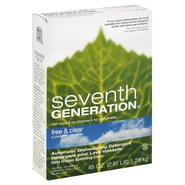 Seventh Generation Automatic Dishwashing Detergent, Free & Clear, 45 oz (2.81 lb) 1.28 kg at Kmart.com
