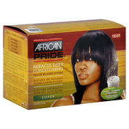 African Pride Relaxer System, Miracle Deep Conditioning, No-Lye, Super, 1 application at Kmart.com