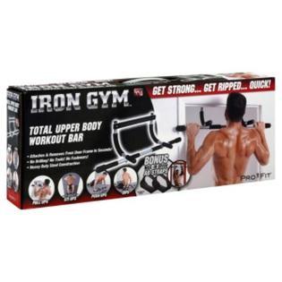 As Seen On TV Iron Gym Workout Bar, Total Upper Body, 1 bar