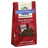 Ghirardelli Chocolate Squares Dark Chocolate, 60% Cacao, 6.38 oz at Kmart.com
