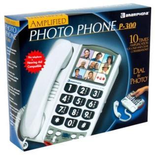 Ameriphone Amplified Photo Phone, 1 phone