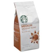 Starbucks Coffee Coffee, Ground, Medium, Breakfast Blend, 12 oz (340 g) at Sears.com
