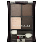 Maybelline New York Expert Wear Stylish Smokes Eyeshadow, Natural Smokes 02, 0.17 oz (4.8 g)