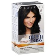 Clairol Nice 'N Easy Permanent Color, Rich Black 133, 1 application at Kmart.com