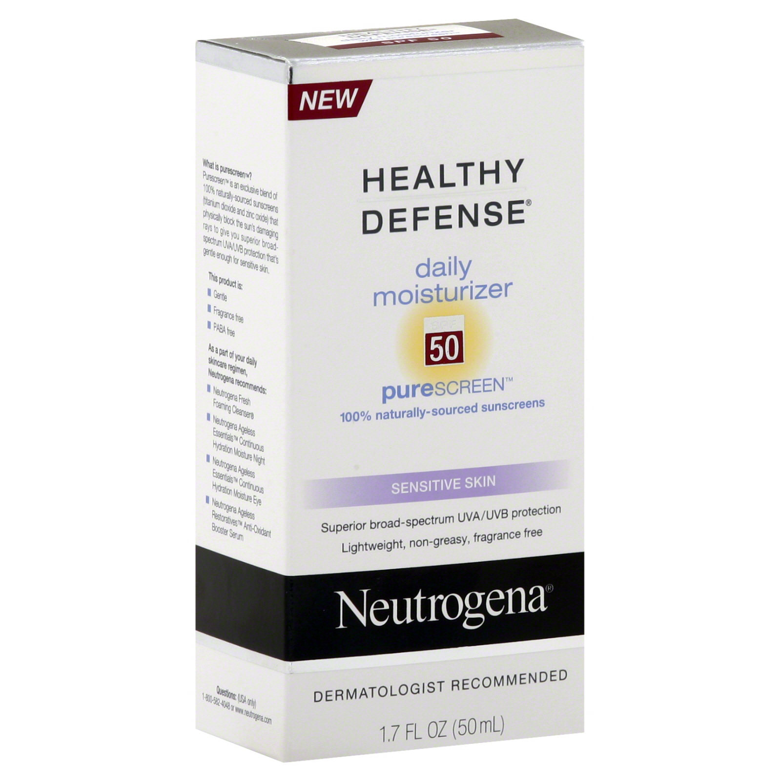 Neutrogena  Healthy Defense Moisturizer,