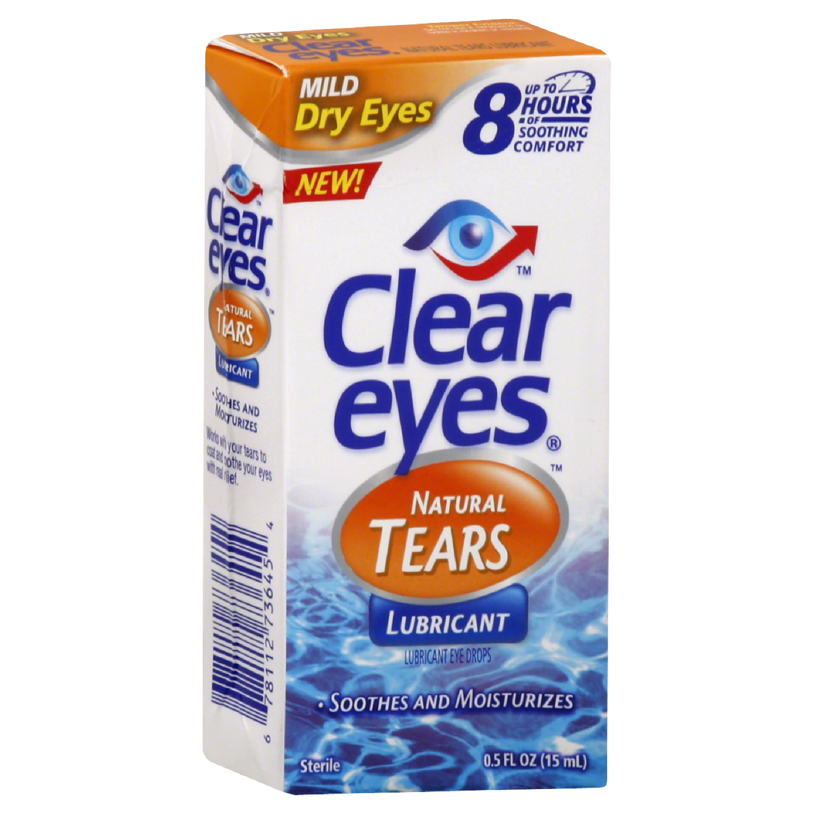 Murine  Natural Tears Eye Drops,