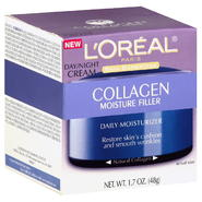 L'Oreal Skin Expertise Daily Moisturizer, Day/Night Cream, Collagen Moisture Filler, 1.7 oz (48 g) at Kmart.com
