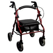 Nova Ortho-Med Inc Rolling Walker, Zoom 20, Red, 1 walker at Kmart.com