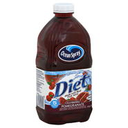 Ocean Spray Juice Beverage, Diet, Cranberry Pomegranate, 64 fl oz (1.89 lt) at Kmart.com