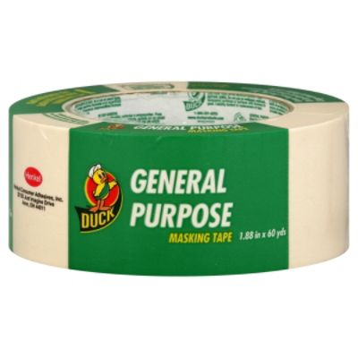 Duck Masking Tape, General Purpose, 1 roll PartNumber: 00980968000P KsnValue: 00980968000
