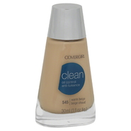 CoverGirl Clean Oil Control Foundation, Warm Beige 545, 1 fl oz (30 ml) at Kmart.com