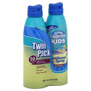 Coppertone Kids Sunscreen, Twin Pack, SPF 50, 2 - 6 fl oz (177 ml) cans at Kmart.com