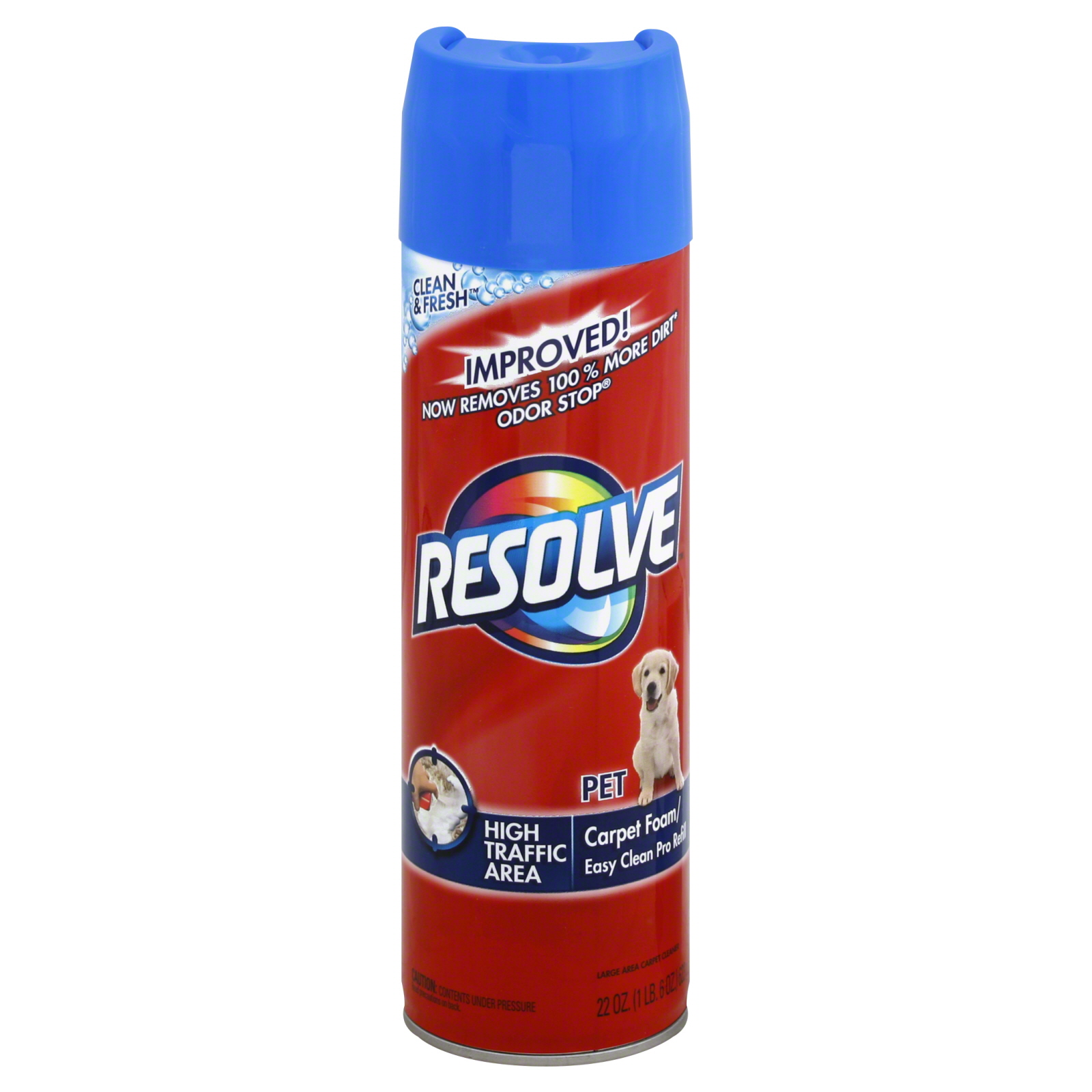 Resolve  Carpet Foam, Easy Clean Pro