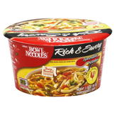 Nissin Bowl Noodles Soup, Ramen Noodle, Rich & Savory, Chicken Flavor, 3.36 oz (95.2 g) at mygofer.com