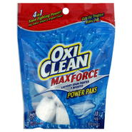 Oxi Clean Max Force Laundry Stain Fighter & Booster, Power Paks, 10 paks [10.9 oz (310 g)] at Kmart.com