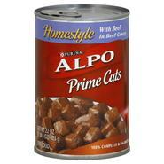 Alpo Prime Cuts Dog Food, Homestyle with Beef, 22 oz (1 lb 6 oz) 623 g at Kmart.com
