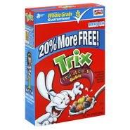 Trix Cereal, Corn Puffs, Fruitalicious Swirls, 12.9 oz (365 g) at Kmart.com
