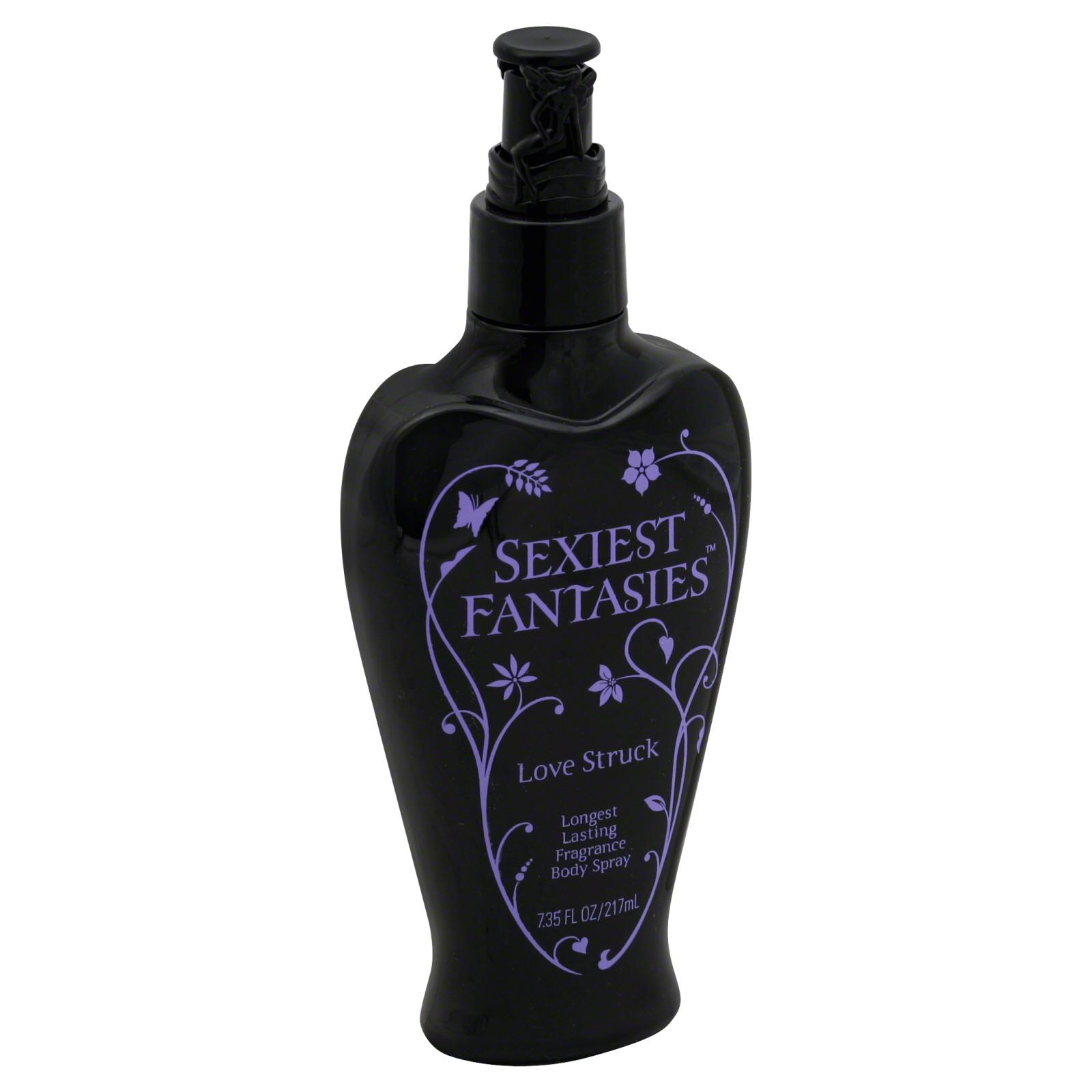 Body Fantasies Body Spray, Fragrance, Longest Lasting, Love Struck, 7.35 fl oz (217 ml) PartNumber: 015W362138110001P KsnValue: 015W362138110001 MfgPartNumber: 0177