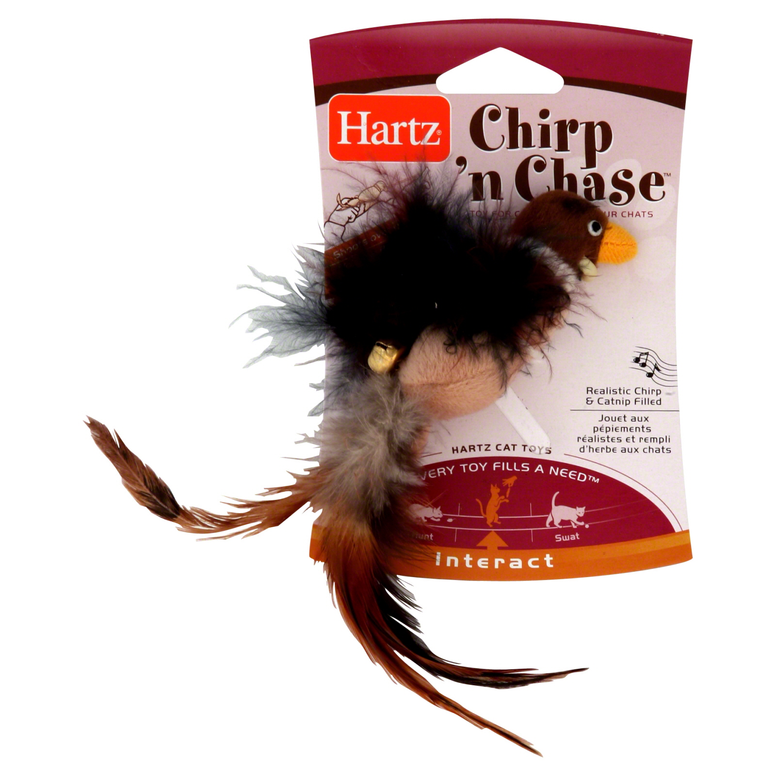 Hartz  Cat Toy, Chirp 'n Chase, 1 toy