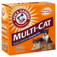 Arm & Hammer Multi-Cat Litter, Clumping, Extra Strength, 20 lb (9.07 kg) at Kmart.com