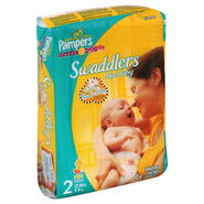Pampers Swaddlers New Baby Diapers, Size 2 (12-18 lb), Sesame Beginnings, Jumbo, 36 diapers at Kmart.com