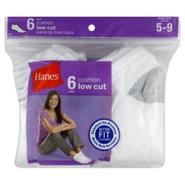 Hanes Her Way Socks, Cushion Low Cut, Women's, 6 pairs at Sears.com