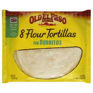 Old El Paso Tortillas, Flour, for Burritos, 8 tortillas [11 oz (311 g)] at Kmart.com