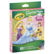 Crayola Coloring Pages, Mini, Disney Princess, 1 kit at Kmart.com