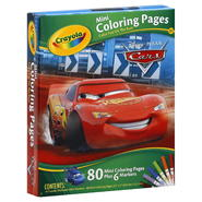 Crayola Coloring Pages, Mini, Disney-Pixar, Cars, 1 kit at Kmart.com