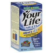 Nature's Bounty Your Life Multi Multivitamin/Multimineral Specialty Formula, Men's 45+, High Potency, Tablets, 90 tablets at Kmart.com