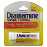 Dramamine Motion Sickness Relief, For Children and Adults, Original Formula, Tablets, 12 tablets at mygofer.com