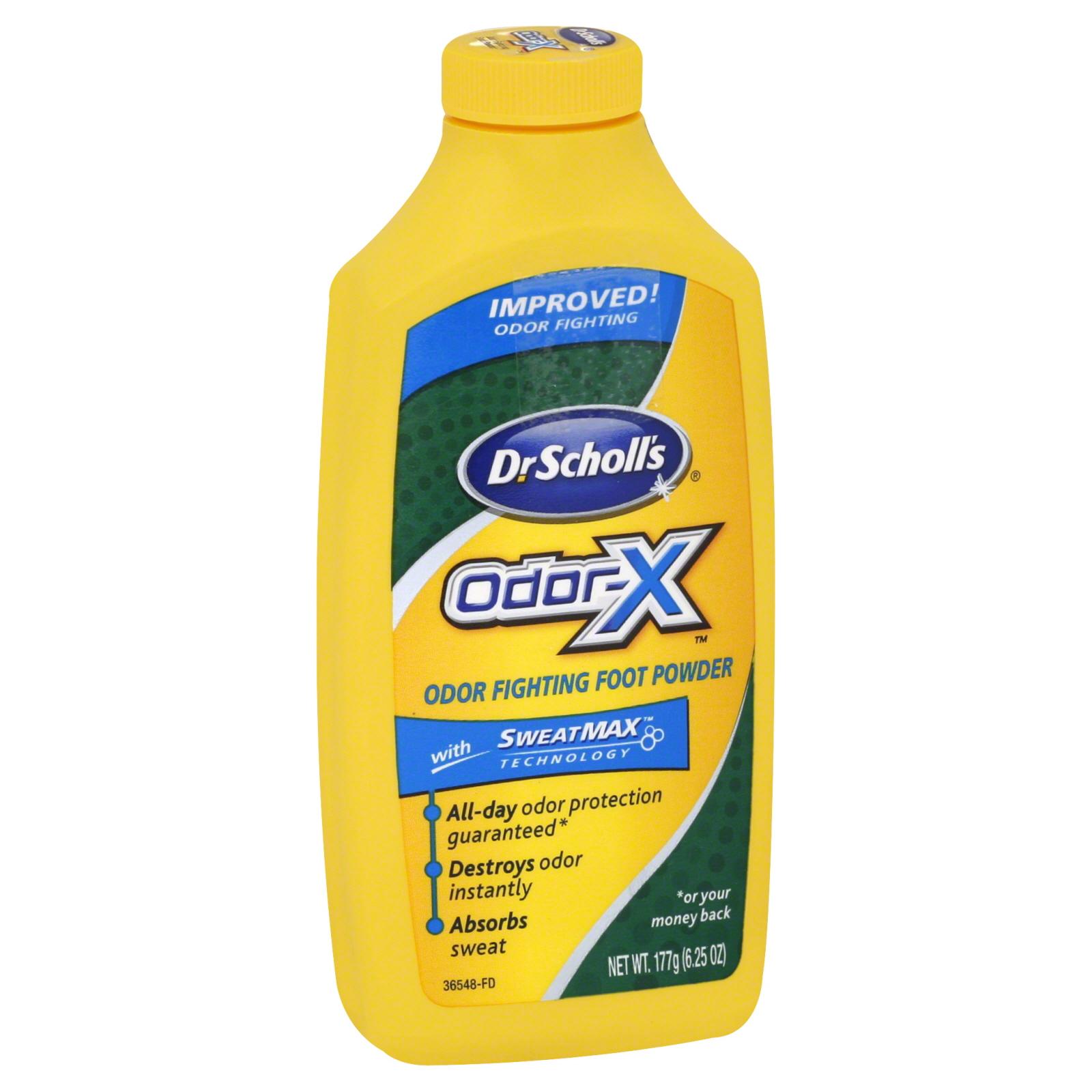 Dr. Scholl's Odor-X Foot Powder, Odor